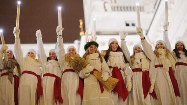 День святой Люсии в Хельсинки