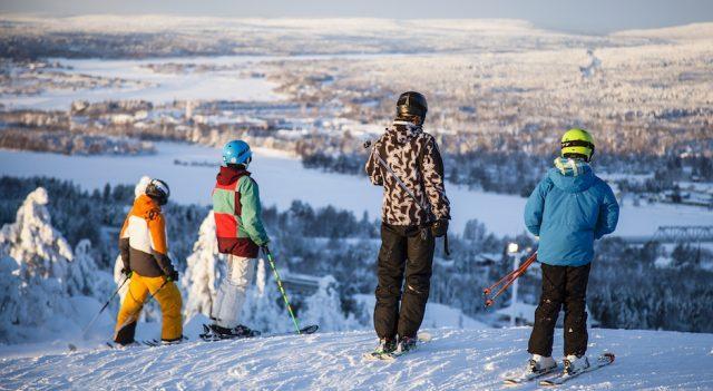 Ounasvaara Ski Resort.Фото: Alexander Kuznetsov / All About Lapland