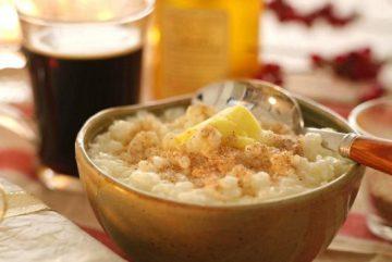 Рождественская рисовая каша