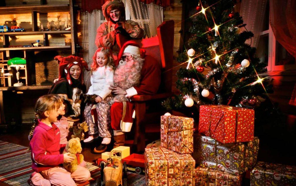 Дом Санта Клауса в Саариселькя