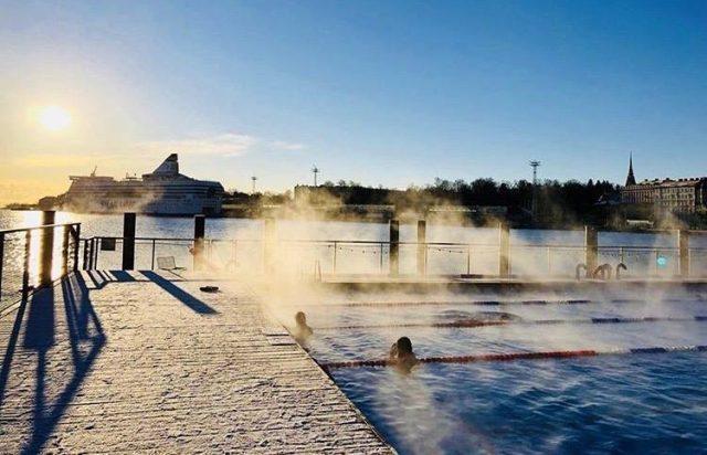 Allas Sea Pool в Хельсинки