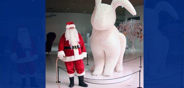 Санта-Клаус в Fazer Experience Centre