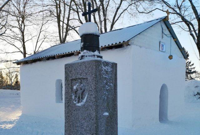 Снежная церковь в Лаппеенранте