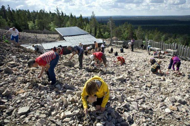 Аметистовая шахта Лампиваара