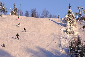 Горнолыжный курорт Hasamäki