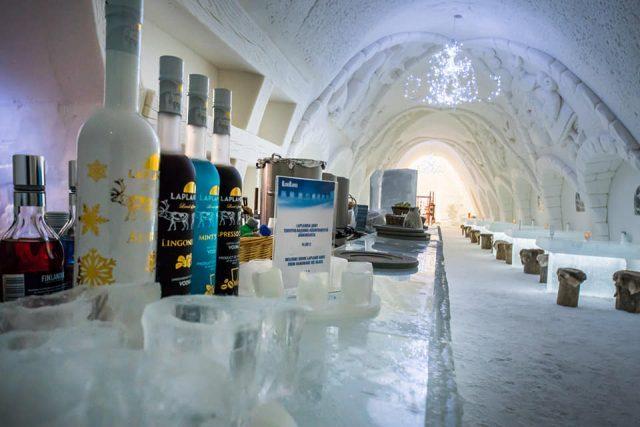 Снежный замок в Кеми, ресторан