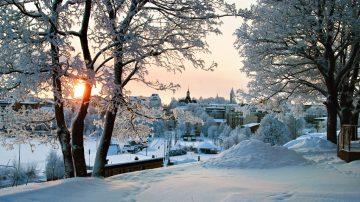 Зима в Лаппеенранте