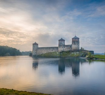 крепость Олавинлинна в Савонлинне