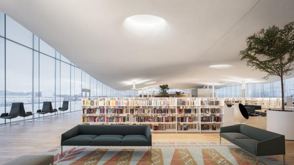 Библиотека Oodi в Хельсинки. Фото: Tuomas Uusheimo