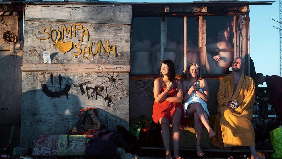 День сауны в Sompa Sauna, Хельсинки
